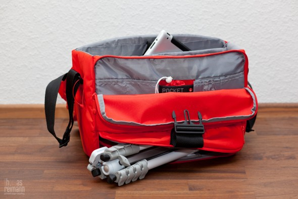 IMG 3779 590x393 Manfrotto STILE Kollektion   Unica V Messenger Bag