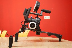 blog 7334 290x193 Im Test... Phottix Trafo DSLR Video Schulter Rig