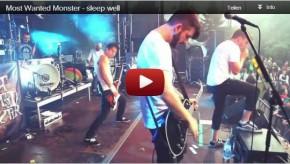 mwm sleepwell youtube 290x164 Most Wanted Monster   sleep well
