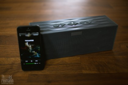 Big Jambox 2577 420x279 Im Test... Jawbone BIG JAMBOX